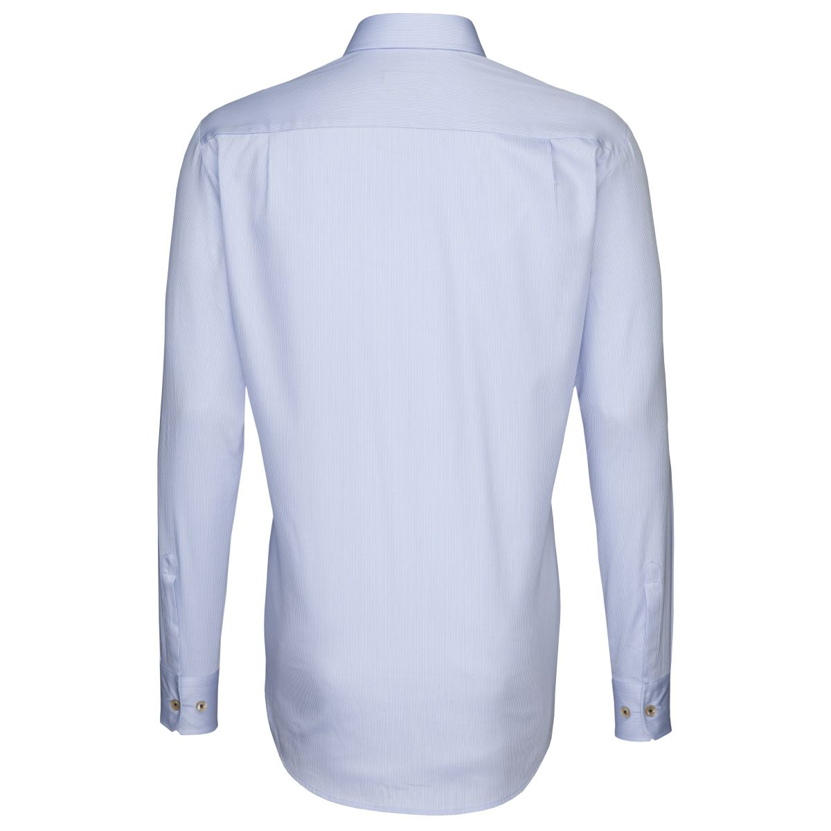Chemise Uno rayures blanches et bleues