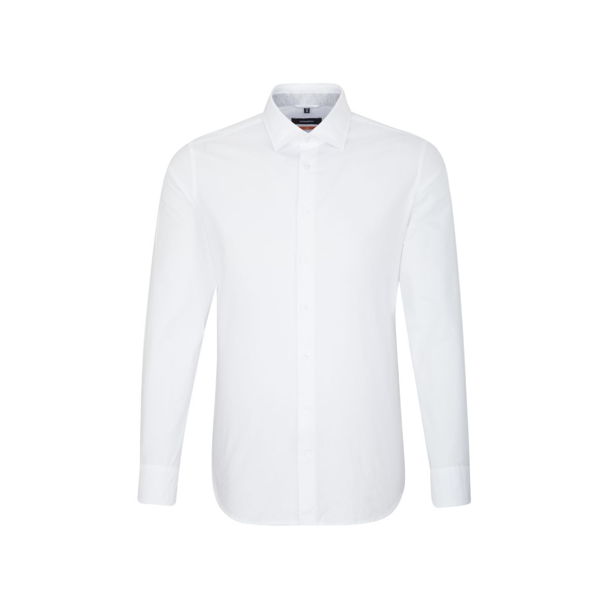 Chemise slim Printed blanche oxford